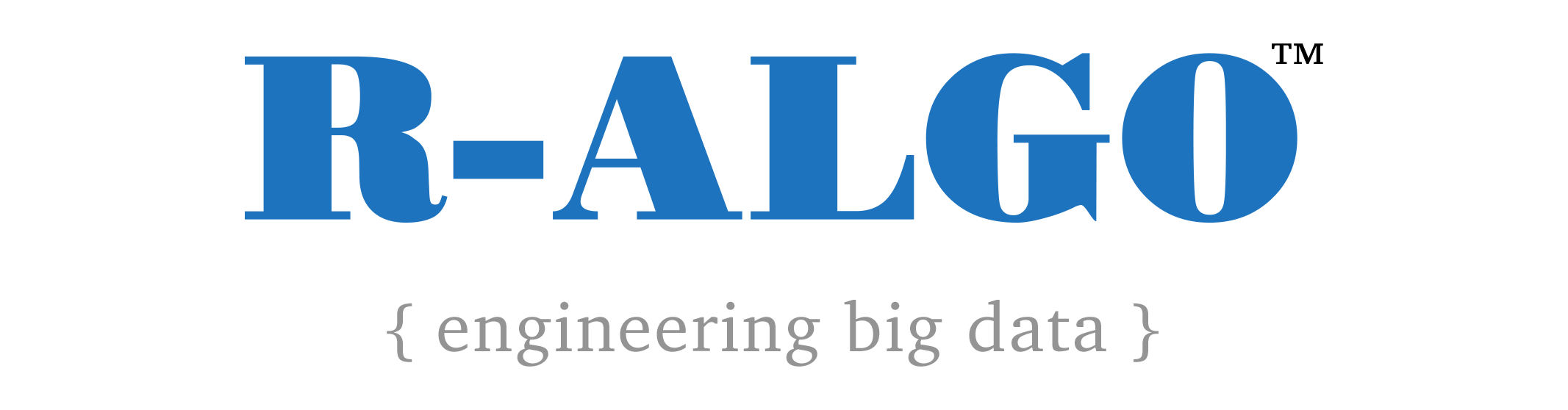 R-ALGO Engineering Big Data